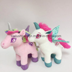 My Little Pony Bonitinha Flying Horse Super Macio Unicorn Contratante fornece animais taxidermizados Plush Unicorn Brinquedos