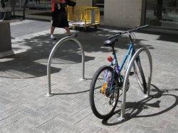 U Shape 장식 야외 자전거 액세서리 자전거 랙 알루미늄