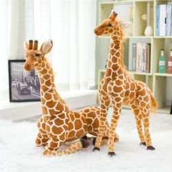 High Quality Real Life Giraffe Stuffed Pluche Toy For Children