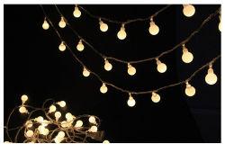 De Lichten van het binnen Openlucht LEIDENE van de Decoratie Koord van de Bol voor het Huwelijk van Kerstmis van de Partij