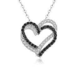 925 de echte Zilveren Juwelen van de Manier van de Halsband Zircon van de AMERIKAANSE CLUB VAN AUTOMOBILISTEN van de Halsband Kubieke