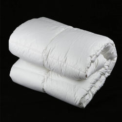 Luxury 100% coton polyester de remplissage carter de courtepointes