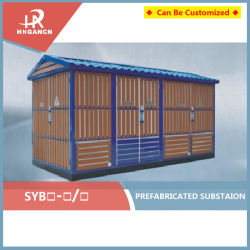10kv trois phase kiosque extérieur Poste Compact Mobile