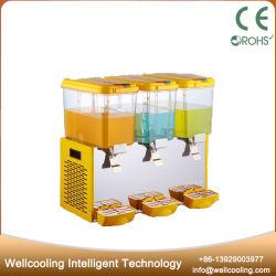 3 tanques de bebidas comerciais de alta capacidade dispensador de sumo de bebidas congelados