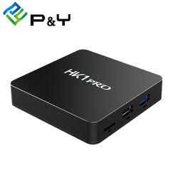 최신 영상 HD 영상 텔레비젼 상자 HK1 직업적인 S905X2 4G 32g 고정되는 최고 상자 인조 인간 텔레비젼 상자 최고 인공 위성 수신 장치