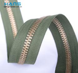 Hans New Custom Washable Brass Ritssluiting door Werf