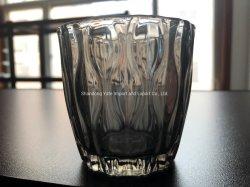 Bougie en verre ondulé Titulaire de l'eau
