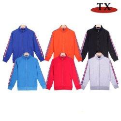 100% algodão suéter desgaste do vestuário de desporto para tecido de lã Capuz Varsity Velo casacos com serviço de OEM