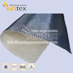 Тепловой изоляции Негорючий Водонепроницаемость Воздуховод гибкий шланг Теплоотражательное алюминиевых стекловолоконной ткани стекловолоконной ткани ламинированной алюминиевой фольги
