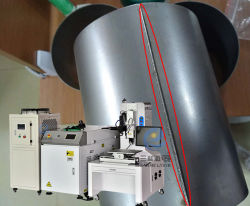 ماكينة لحام الليزر من ألياف CNC للمواتير لحام من الألومنيوم بدش من الفولاذ