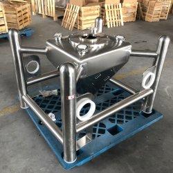 Imbuto quadrato per conservazione in acciaio inox