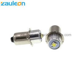 3개의 4개의 5개의 6개의 C/D 플래쉬 등 토치를 위한 Maglite 비 극성 2-9V 보충 LED 전구를 위한 P13.5s Pr2 고성능 LED 향상 전구