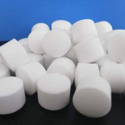 La naturaleza pura de ablandamiento de agua de mar de sal en tabletas que se utiliza para agua Softing