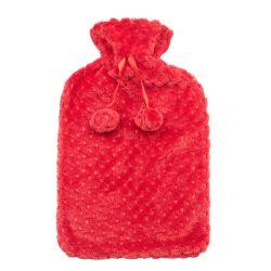 Bolsa de agua caliente con cubierta de felpa BS Bolsa de agua caliente Linda Botella de agua caliente