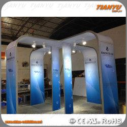 La Chine de la tension tissu toile de fond de Photo Booth 3X3 Stand pour la publicité de conception