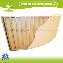 乾式壁のボードプラスター天井のボードまたはウォールボードまたは破裂音のボードか中断された石膏ボード
