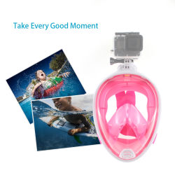 Снаряжение для дайвинга панорамный, полностью закрывающую лицо подводное плавание с маской и маски подсети противотуманные плавание с маской для поддержки камер