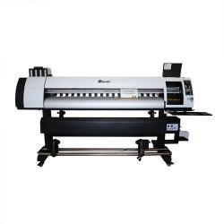 Двойной цифровой головки блока цилиндров экологически чистых растворителей струйный принтер для виниловых пластинок в мастерской