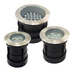 Im Freien moderne Aluminiumbegrabene Lichter des material-IP65 LED und LED-Tiefbaulicht
