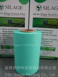 100% de polietileno virgem, moldagem por sopro de 3 camadas, filme de enrolamento de silagem, filme de embalagem de plástico para a Austrália