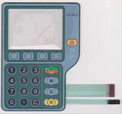 실크 스크린 인쇄 3m 접착 N 주입 펌프 의료용 멤브레인 사용자 지정 스위치
