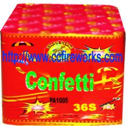 36S Konfetti Party Items Feuerwerk (PA1005)