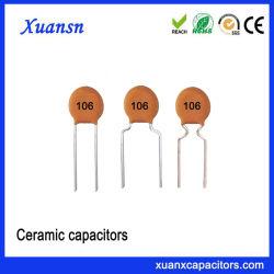 10UF 50V het Ceramische Lage Voltage van de Condensator