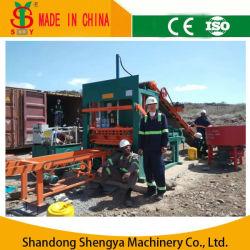 Finisseur hydraulique automatique/trottoir /block/machine à fabriquer des briques Qt5-20
