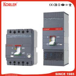 Mini MCCB disjoncteur DC non polarisée avec certificats TUV Knm3