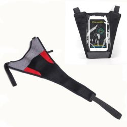 Fahrrad-Rahmen-Schweiss-Deckel-Fahrrad-Trainings-Schweiss-Schutz verhindert Fahrrad an der Korrosion mit Mobiltelefon-Halter Esg16721