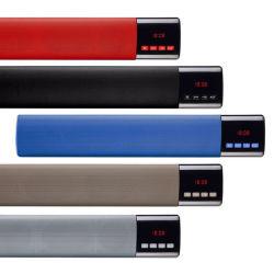 B28s Mini Alarme de haut-parleur Bluetooth sans fil de l'horloge avec LED d'affichage de la durée de la radio FM TF