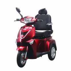 T408-3 CEE 3 ruedas Scooter de movilidad con la cesta de la parte trasera para adultos