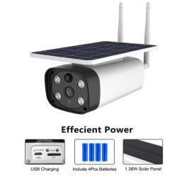 webcam impermeabile esterno del video a distanza solare della videosorveglianza 4G