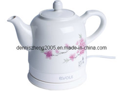 ティーポットCeramic Electric Kettle、Cordless Water Tea、1500ml