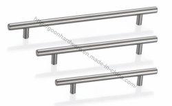 Acero inoxidable gabinete de los muebles de cocina T-Barra de tracción manijas G00001