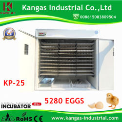 Nuevo 5280 huevos Digital incubadora de huevos automática de ahorro de energía (KP-25)