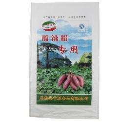 50kg Bolsa Bolsa de polipropileno Reciclado de fertilizante utilizado PP Bolsa tejida
