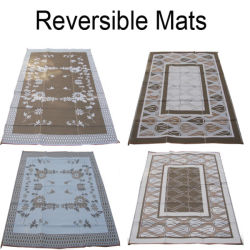 Znz Couverture de pique-nique tapis RV de plein air en plastique polypropylène