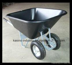 Qualidade elevada 140L&10cbf balde grande roda/Wheelbarrow Poly Barrow (WB9600 preço competitivo)