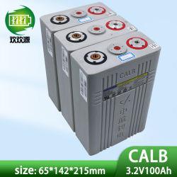 Bateria de célula LFP de grau a Calb LiFePO4, potência de 3,2V 100ah