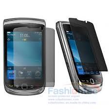 Pour Blackberry 9900 protecteur d'écran de confidentialité