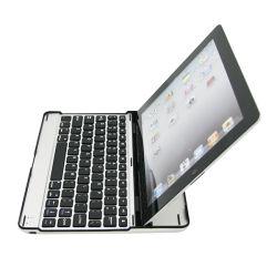 2013 Le plus récent en aluminium Ultra Slim Clavier sans fil Bluetooth pour iPad2/nouvel iPad