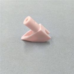 Boquilla de aceite de rosa de cerámica de alúmina de maquinaria textil la guía de cables