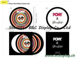Coaster, Eco-Friendly Coaster de papel especial com SGS (B & C-G001)