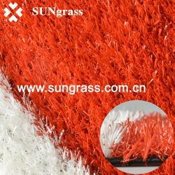 Erba artificiale di sport per l'erba sintetica del banco o della pista (QDS-RBR)