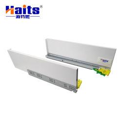 أثاث جيد الجودة درج خزانة القضيب المنزلق، أثاث معدني الدرج الداخلي المرتفع أنيق صندوق درج صندوقي ترادفي نظام