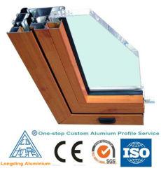 Rupture thermique en aluminium des profils de granularité de bois