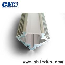 19*19mm LED en forme de V Profil en aluminium pour bande de ruban de lumière à LED