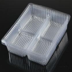 cassetto fresco della bolla della radura pet/PVC/PS/plastic dell'alimento disposible dell'OEM della fabbrica
