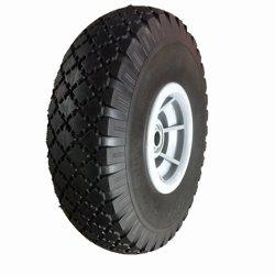 Handrollrad PU-Reifen 3.00-4-Rad mit Kunststofffelge